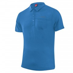 Men Poloshirt Merino-tencel