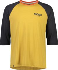 Mens Tarn Freeride Raglan 3/4