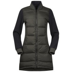 Oslo Down Hybrid Long W Jacket