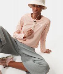 Womens Long Sleeve Simple Dome Tee-eu