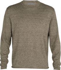 M Flaxen Long Sleeve Crewe Sweater