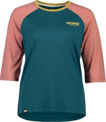 Womens Tarn Freeride Raglan 3/4