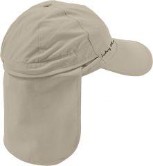 Pompei-cap mit Nackenschutz