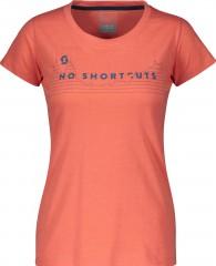 Tee W's 10 No Shortcuts s/sl