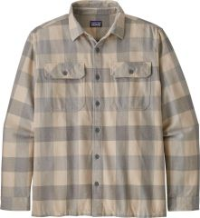 M's Long Sleeve Natural Dye Fjord Flannel Shirt