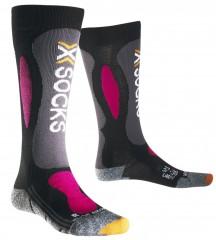 Ski Carving Silver Socks Lady