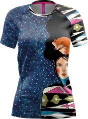 T-shirt Rockstar Woman