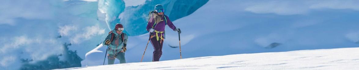 Ausrüstung für Skitouren und zum Freeriden