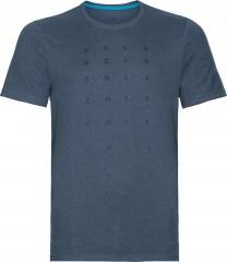 Herren Millennium Element Print T-shirt