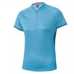 Women Bike Shirt Half Zip Rise UP