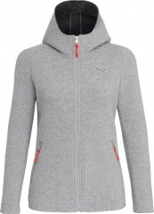 Sarner 2L Wool W Full Zip Hoody.