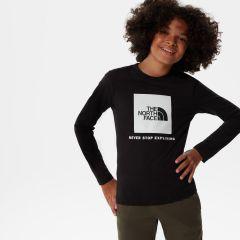 Y NEW Long Sleeve Box Logo Tee