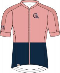 PushbikersM. Fem Race 1/2 Short Sleeve Bike Jersey
